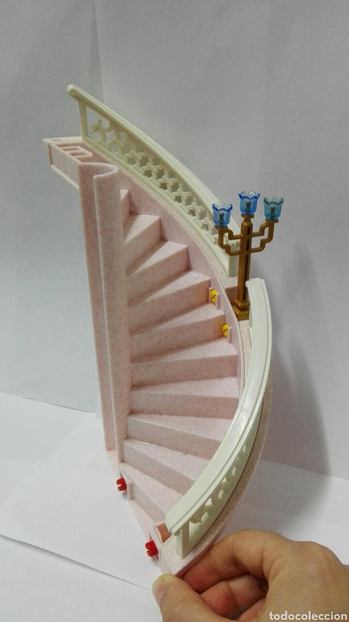 Playmobil, castillo, palacio, escalera, barandilla, 4250, 4251, princesa, medieval, pieza, system x segunda mano