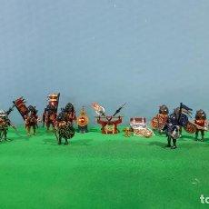 Playmobil: PLAYMOBIL-GERREROS SAMURAI- MONGOL-NINJA-ASIA. Lote 135112970