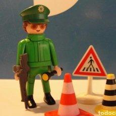 Playmobil: LOTE FIGURA POLICIA MEDIEVAL WESTERN OESTE DIORAMA BELEN PLAYMOBIL. Lote 135185057