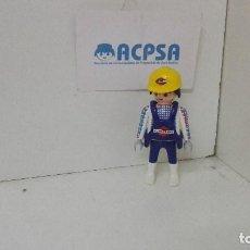 Playmobil: PLAYMOBIL FIGURA OBRERO CONSTRUCCION. Lote 135295682