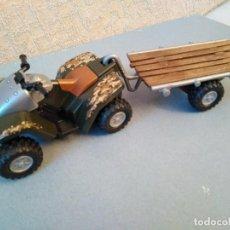 Playmobil: MOTO QUAD CON REMOLQUE PLAYMOBIL . Lote 135325354