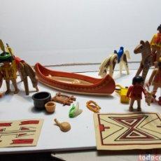 Playmobil: PLAYMOBIL LOTE ANTIGUO INDIOS Y VARIOS. Lote 135346517
