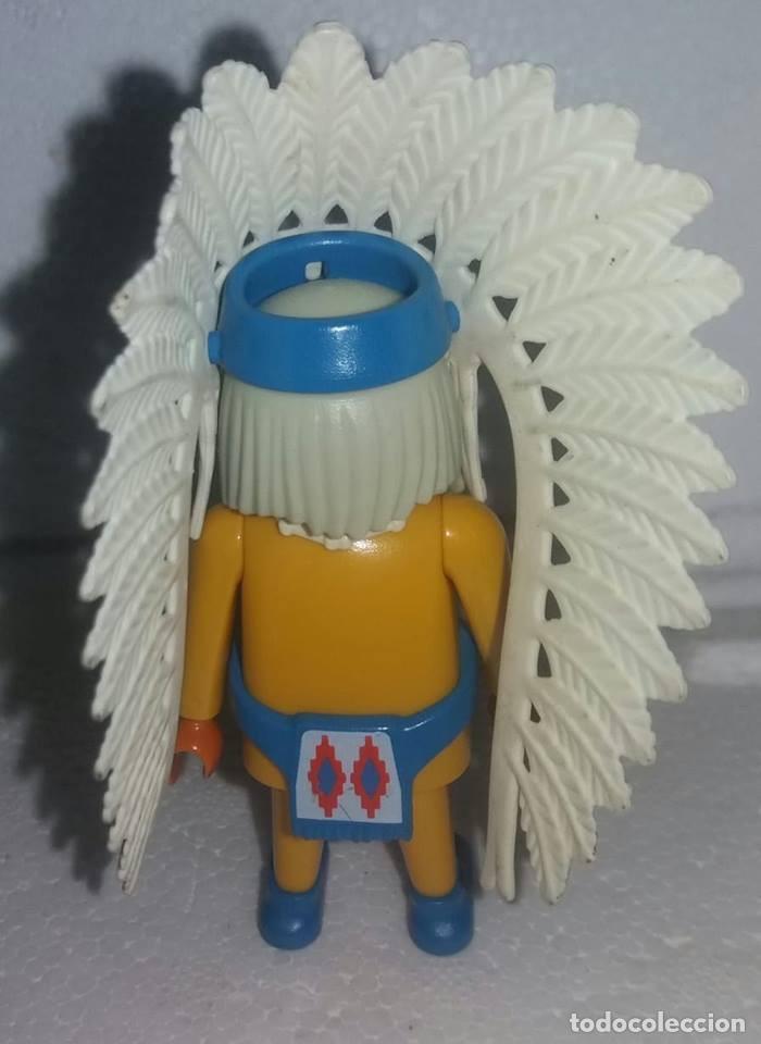 Playmobil: PLAYMOBIL INDIO CON PLUMAS - Foto 2 - 135368918