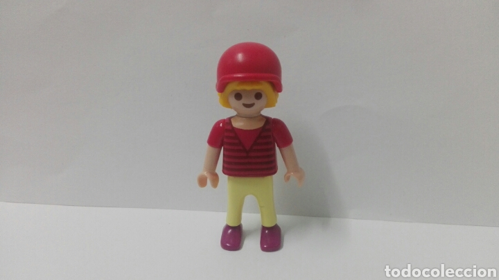 Playmobil, niña, casco, parque, deportes, casa, accesorios, vacaciones, usado segunda mano