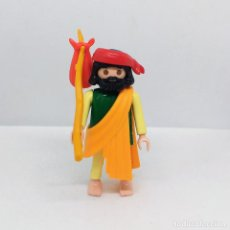 Playmobil: PLAYMOBIL CUSTOM PASTOR ALDEANO NAVIDAD BELÉN FIGURA . Lote 135702655