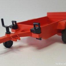 Playmobil: REMOLQUE ANTIGUO PLAYMOBIL 3478 MOTO CARRERA VALVOLINE JEEP PILOTO MOTOCICLETA . Lote 136145090