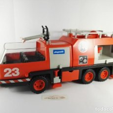 Playmobil: CAMION DE BOMBEROS PLAYMOBIL 3526 DE 1981. Lote 136176458