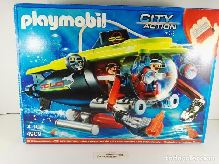 SUBMARINO DE ALTA MAR CON MOTOR PLAYMOBIL 4909 (Juguetes - Playmobil)
