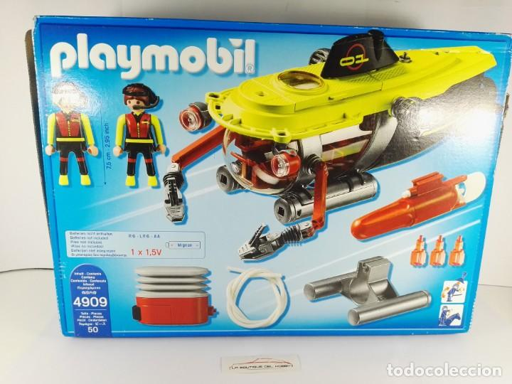 Playmobil: SUBMARINO DE ALTA MAR CON MOTOR PLAYMOBIL 4909 - Foto 2 - 136176830
