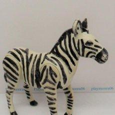 Playmobil: PLAYMOBIL C106 ANIMAL CEBRA - PINTADA A MANO - IDEAL ESCENAS ZOO AFRICA SAFARI. Lote 136226706