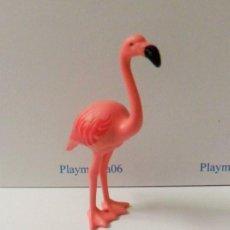 Playmobil: PLAYMOBIL C107 ANIMAL FLAMENCO IDEAL ESCENAS AFRICA ZOO SAFARI. Lote 136228586