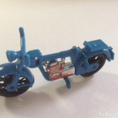 Playmobil: PLAYMOBIL MOTO MOTERO PRIMERA EPOCA CASA CIUDAD VARIOS PIEZAS. Lote 136286562