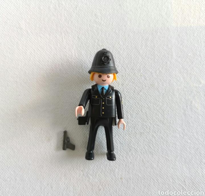 PLAYMOBIL POLICÍA LONDRES - CUSTOM BOBBY INGLÉS- (Juguetes - Playmobil)