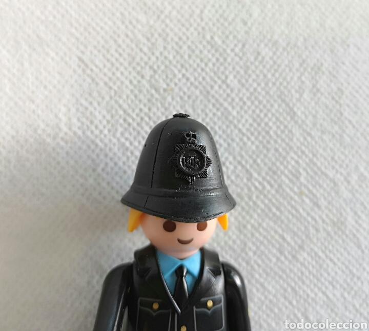Playmobil: PLAYMOBIL POLICÍA LONDRES - custom Bobby inglés- - Foto 2 - 136441712