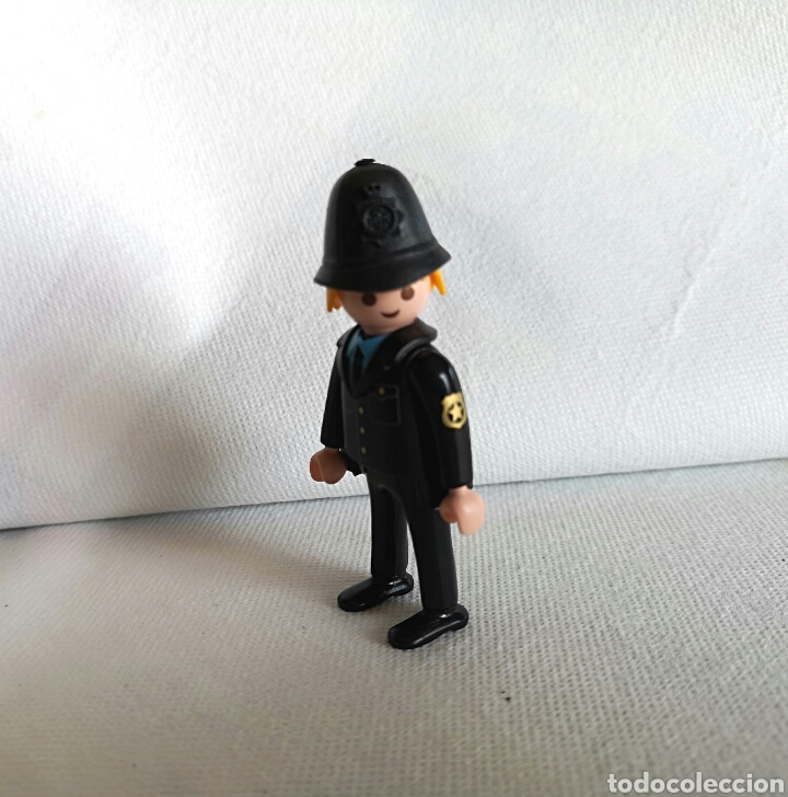 Playmobil: PLAYMOBIL POLICÍA LONDRES - custom Bobby inglés- - Foto 3 - 136441712