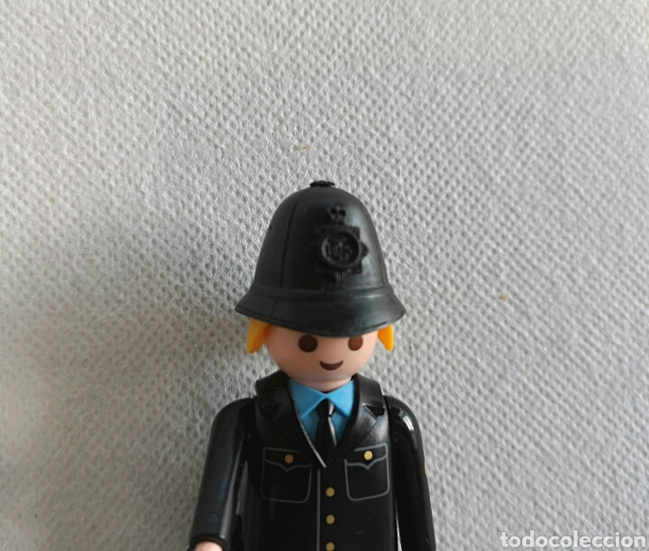 Playmobil: PLAYMOBIL POLICÍA LONDRES - custom Bobby inglés- - Foto 4 - 136441712