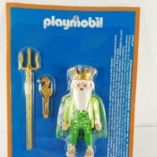 Playmobil: FIGURA POSEIDON DIOSES GRIEGOS ALTAYA PLAYMOBIL. Lote 136540298