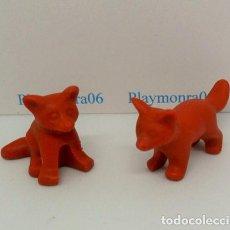 Playmobil: PLAYMOBIL C106 ANIMAL CRIAS DE ZORRO IDEAL ESCENAS GRANJA BELEN OESTE BOSQUE. Lote 136509234