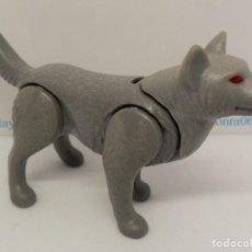 Playmobil: PLAYMOBIL C106 ANIMAL LOBO IDEAL ESCENAS GRANJA BELEN OESTE BOSQUE. Lote 136509306