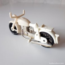 Playmobil: PLAYMOBIL [MOTO BLANCA PRIMERA ÉPOCA 3641 3616 3680 COLOR MOTOCICLETA AÑOS 70 MOTORISTA]. Lote 136540006