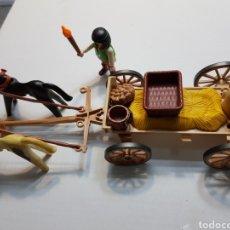 Playmobil: PLAYMOBIL LOTE CARRO MEDIEVAL. Lote 136636762