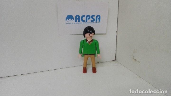 Usado, Playmobil Figura Hombre Polo Verde segunda mano