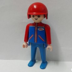 Playmobil: PLAYMOBIL, FIGURA, PILOTO, CASCO, COCHE, MOTO, CIUDAD, MOTOCICLETA, AUTOMÓVILES. Lote 136844988