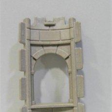 Playmobil: PLAYMOBIL MEDIEVAL PARED DE CASTILLO VENTANA DE TORREON MURO CURVO STECK. Lote 205868591