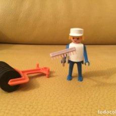 Playmobil: FAMOBIL PLAYMOBIL OBRERO APISONADORA REF. 3314. Lote 137002594