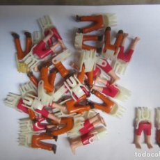 Playmobil: LOTE SURTIDO 30 PIERNAS CON SUS ESQUELETOS PLAYMOBIL. NUEVAS. Lote 137160842
