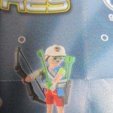 Playmobil: SERIE 14 PLAYMOBIL CHICOS. ARQUERO. NUEVO EN BOLSA . Lote 137161518