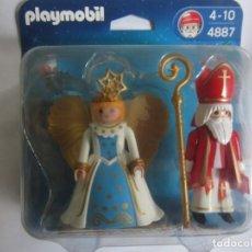 Playmobil: BLISTER NAVIDAD PLAYMOBIL REFERENCIA 4887. Lote 137163062
