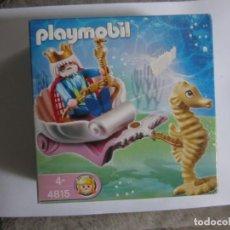 Playmobil: SET 4815 PLAYMOBIL NEPTUNO BAJO EL MAR CON CABALLITO. Lote 137163370