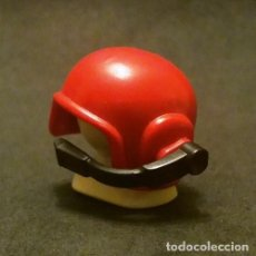 Playmobil: PLAYMOBIL SOMBRERO CASCO PILOTO CON MICRÓFONO, ROJO AÑOS 87 AL 96 3090 3611 3847 4423 9974. Lote 137246222