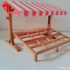 Playmobil: PLAYMOBIL TIENDA CON TOLDO PUESTO MERCADO. Lote 137250102