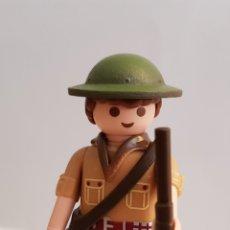 Playmobil: PLAYMOBIL SOLDADO INGLÉS BRITANICO SEGUNDA GUERRA MUNDIAL. Lote 137316138