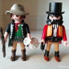 Playmobil: PLAYMOBIL, LOTE, OESTE, WESTERN, REF 5512, SOLDADO, OFICIAL, SHERIFF, BANDIDO, VAQUEROS, CUSTOM. Lote 137804442