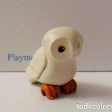 Playmobil: PLAYMOBIL C107 ANIMAL BUHO IDEAL ESCENAS OESTE INDIOS GRANJA BOSQUE ROMA. Lote 137932774