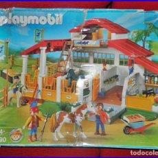 Playmobil: ANTIGUA GRANJA PLAYMOBIL. CABALLOS, HÍPICA. 4190.. Lote 138136806