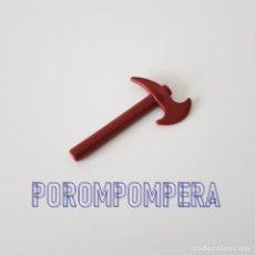 Playmobil: PLAYMOBIL ARMAS [ANTIGUA HACHA MARRÓN 3939 4175 PIRATA LEÑADOR BOMBERO POLICÍA] AX. Lote 138646210