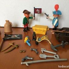 Playmobil: LOTE PLAYMOBIL FAMOBIL CLIC CLIKS PIRATAS. Lote 139068092