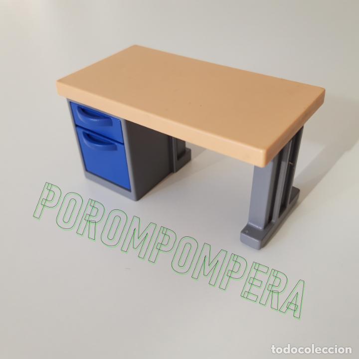 playmobil [mesa de oficina con cajones azules m - Comprar Playmobil ...