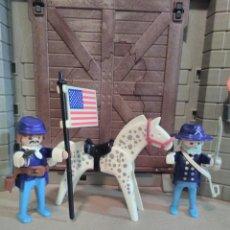 Playmobil: PLAYMOBIL REF. 3306 GENERAL Y SARGENTO NORDISTA, OESTE, WESTERN. Lote 139871262