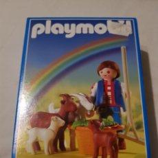 Playmobil: PLAYMOBIL CABRERO CABRAS REF 3116. Lote 139884184