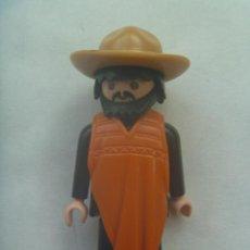 Playmobil: PLAYMOBIL DE 1974 : FIGURA DE VAQUERO, MEXICANO CON PONCHO. Lote 139908606