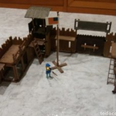 Playmobil: FAMOBIL FORT UNIÓN 3420 COMPLETO. Lote 140250200