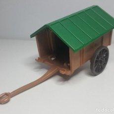Playmobil: CARRO PASTOR PLAYMOBIL 3412 CARRETA CARRETILLA NOMADA ERMITAÑO MEDIEVAL . Lote 140308094