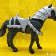 Playmobil: PLAYMOBIL CABALLO NEGRO ACORAZADO. Lote 140542586