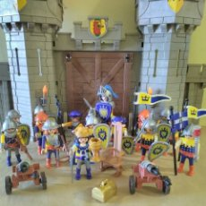 Playmobil: PLAYMOBIL LOTE MEDIEVAL CASTILLO, FIGURAS Y ACCESORIOS. Lote 142635458