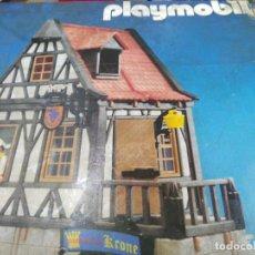 Playmobil: ANTIGUA CAJA DE PLAYMOBIL MEDIEVAL REF 3448 MESON DE LA CORONA . Lote 140785318
